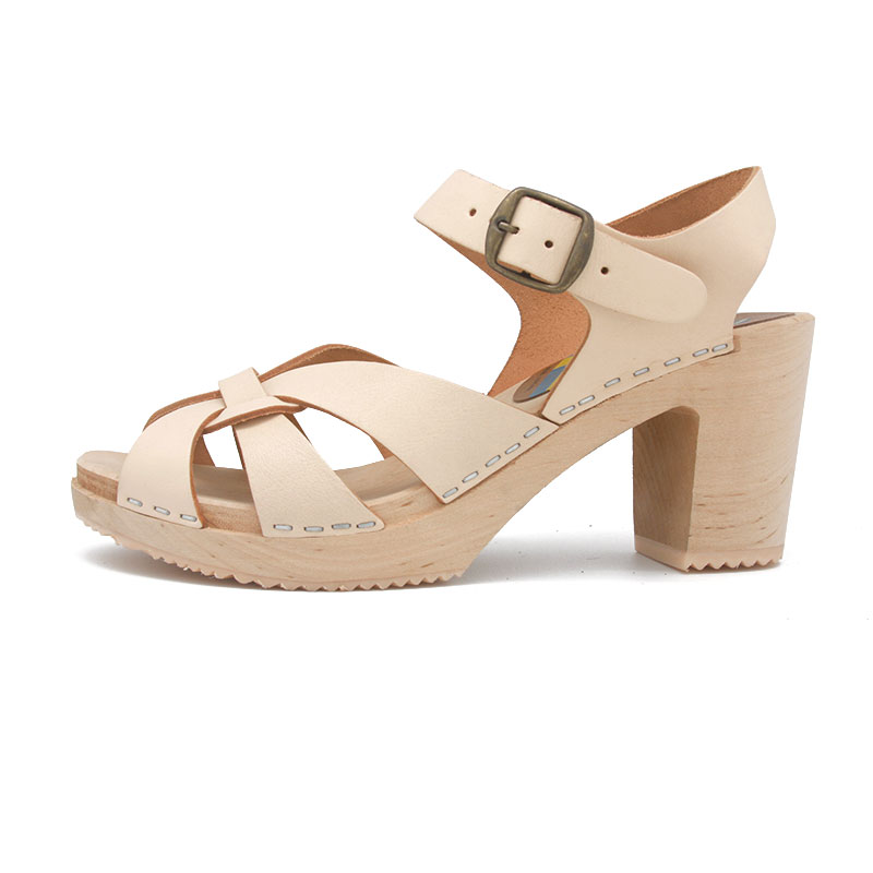 sandalias sandals gunnels zuecos clogs piel leather natural nature