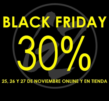 Black Friday Weekend en Gunnel's Zuecos